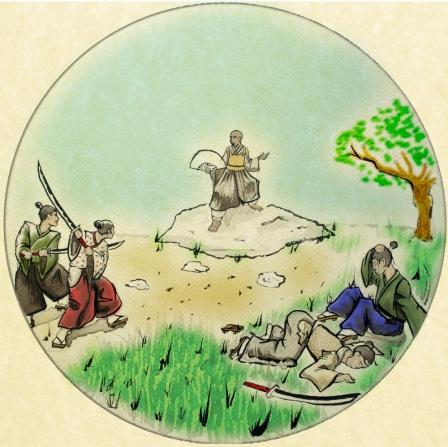 Shoju Rojin and the Yorimoto Samurai
